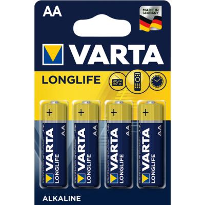 VARTA 4106 συσκ. 4 AΛΚΑΛΙΚΗ LONGLIFE AA