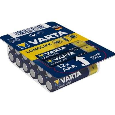 VARTA 4103 συσκ.12 AΛΚΑΛΙΚΗ LONGLIFE AAA