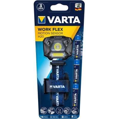 VARTA 18648101421 Work Flex MotionSensor H20 3AAA (ΠΕΡΙΛ)