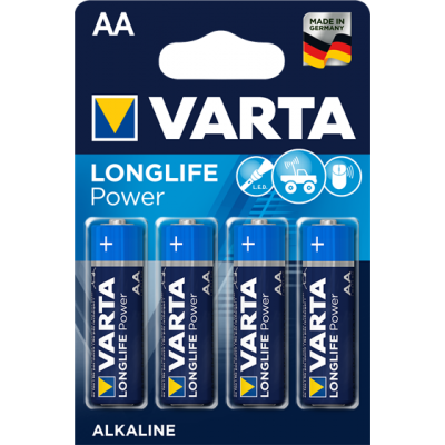 VARTA 4906 συσκ.4 AΛΚΑΛΙΚΗ LONGLIFE POWER AA
