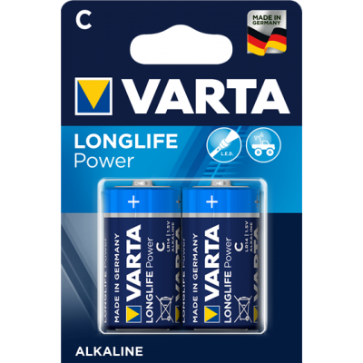 VARTA 4914 συσκ.2 AΛΚΑΛΙΚΗ LONGLIFE POWER C 1,5V