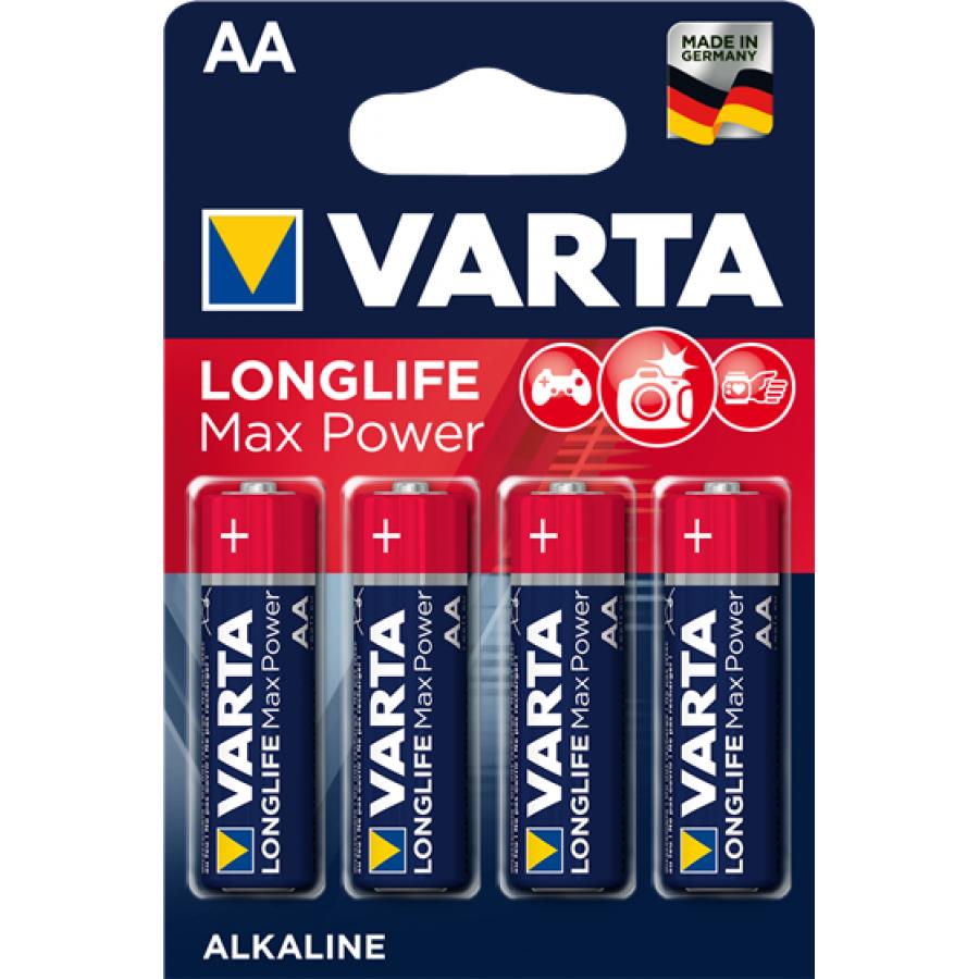 VARTA 4706 συσκ.4 AΛΚΑΛΙΚΗ LONGLIFE MAX POWER AA