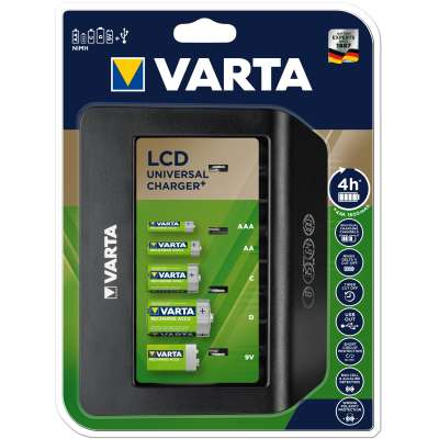VARTA 57688101401 LCD UNIVERSAL CHARGER