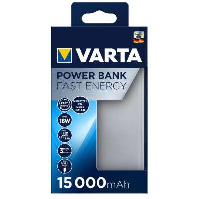 VARTA 57982101111 Powerbank Fast Energy 15000 mAh