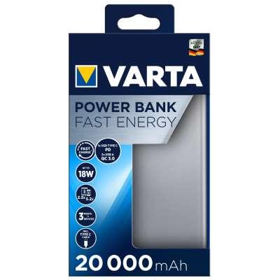 VARTA 57983101111 Powerbank Fast Energy 20000 mAh